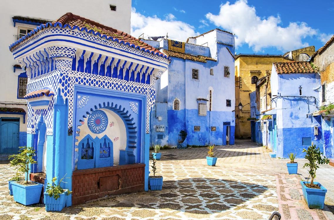Blue Medina Morocco